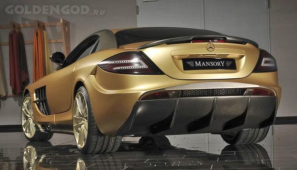 2008 Mercedes-Benz McLaren SLR MANSORY