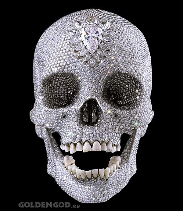 Diamond Skull - платиновый череп