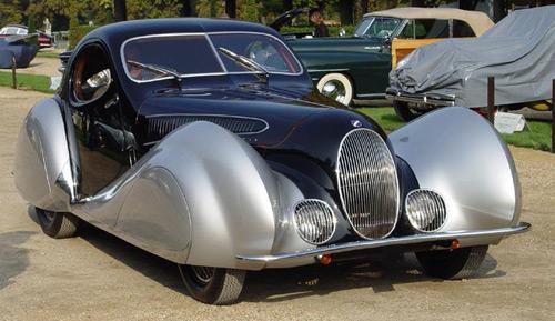 1937 Talbot Lago дорогой ретромобиль