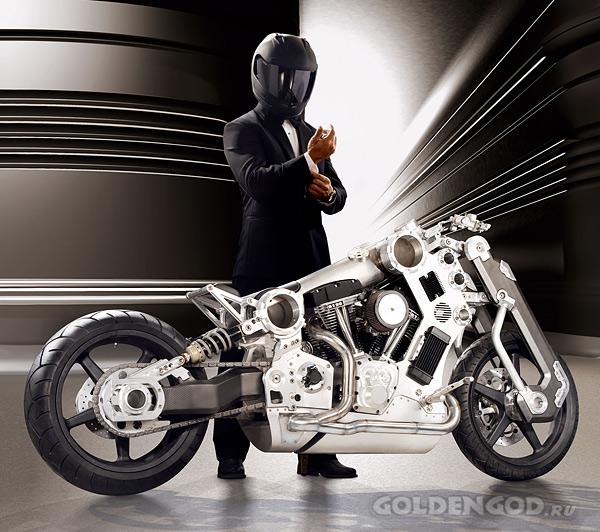 Уникальный мотоцикл Titanium Fighter Motorcycle