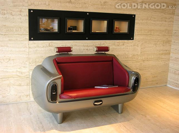 Диван Aston Martin DB6 Couch Limited Edition