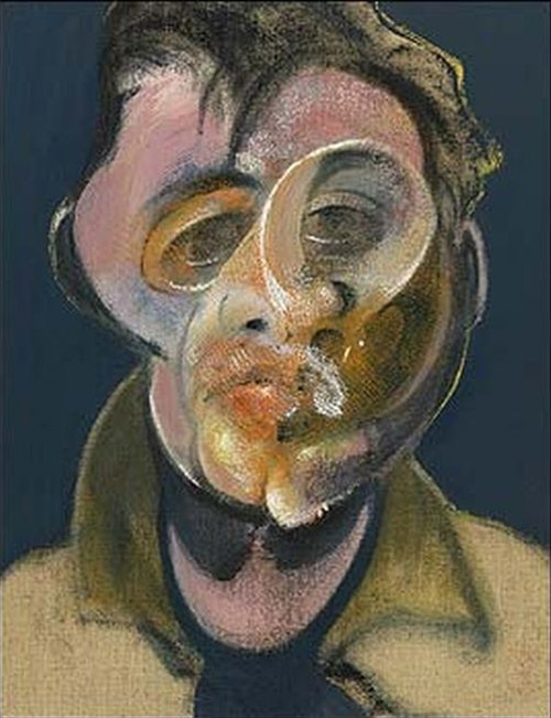 "Картина Francis Bacon ""Автопортрет"""