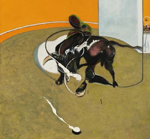 Картина Francis Bacon Этюд боя быков N1