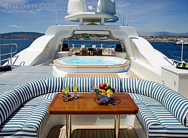 Супер яхта DEJA TOO