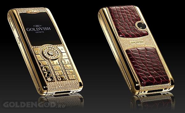 На втором месте среди самых безумно дорогих мобильных телефонов прочно устоялся шедевр мобильно-ювелирной