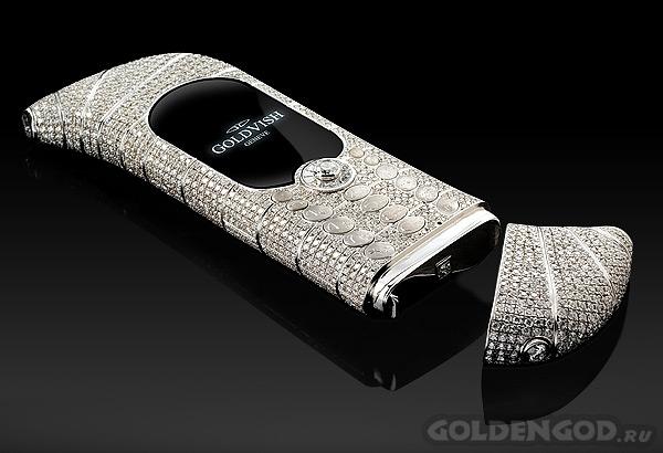 Самый дорогой мобильный телефон GoldVish Le Million