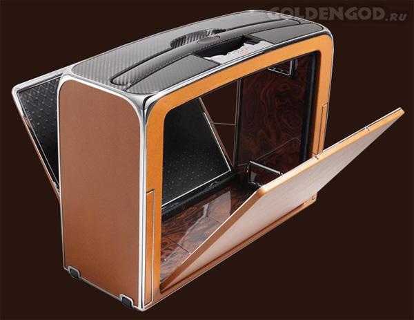 Самый легкий и дорогой чемодан в мире