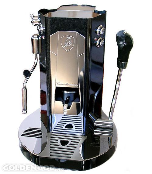 Дорогой кофейный автомат Tonino Lamborghini