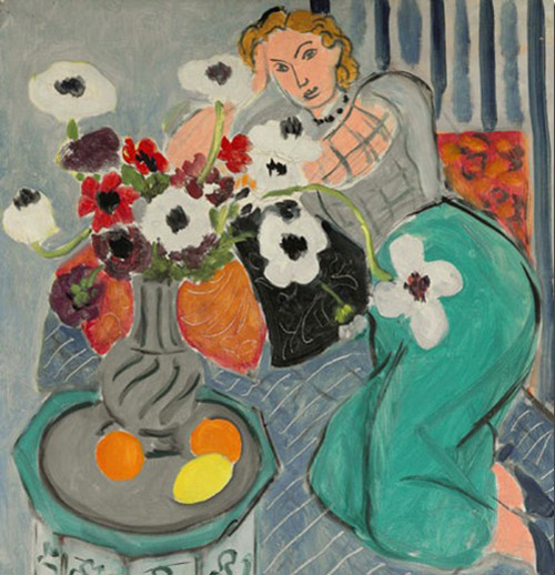 Картина Henri Matisse «L`Odalisque, Harmonie Blueue»