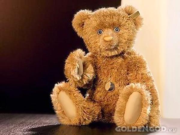 Самый дорогой игрушечный плюшевый медведь