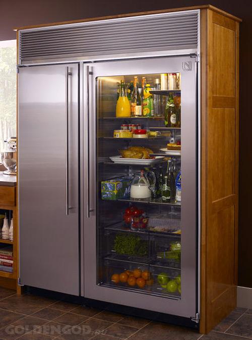 Самый дорогой в мире холодильник и морозильник