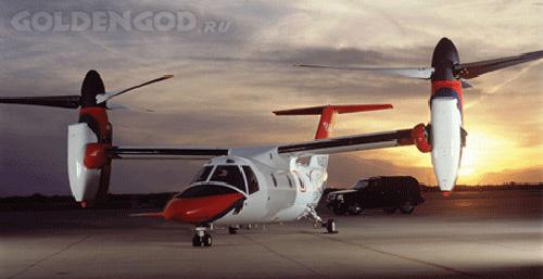Необычный самолет Tiltrotor Aircraft