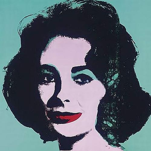 Картина Andy Warhol «портрет Лиз Тэйлор»
