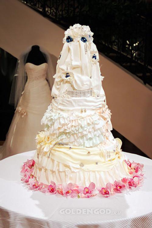 Самый дорогой свадебный торт в мире