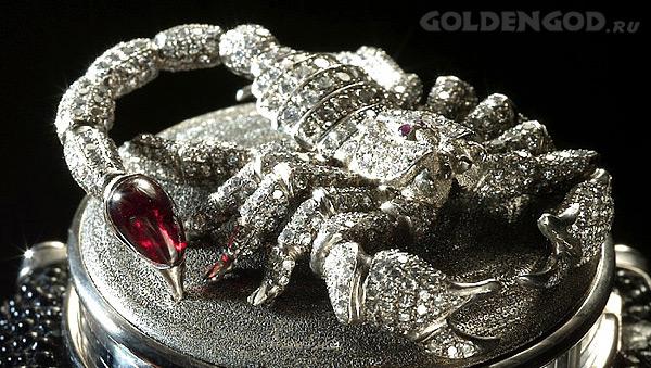Часы Скорпион - Scorpion Andreas von Zadora