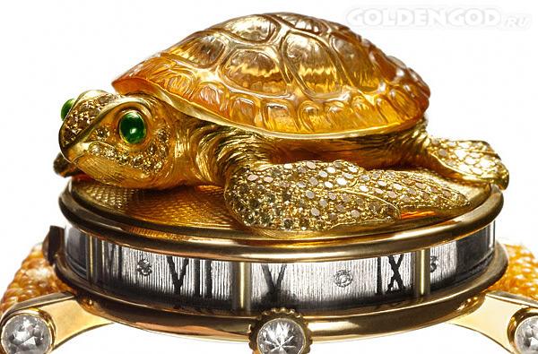 Часы Черепаха Sea Turtle Andreas von Zadora