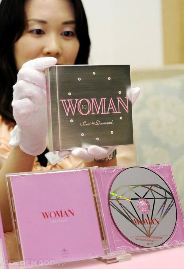 Самый дорогой в мире компакт диск CD