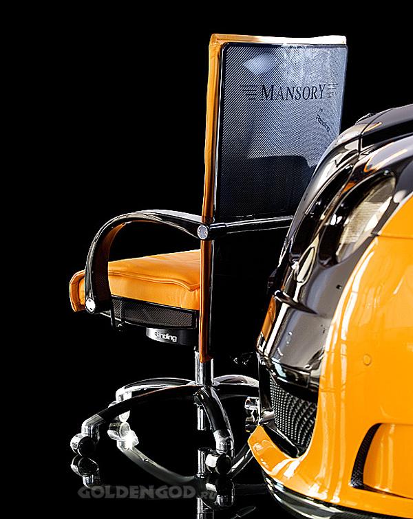Дорогое офисное кресло Le Mansory