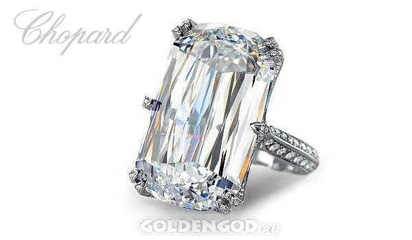 Кольцо с бриллиантом 31 карат, Chopard