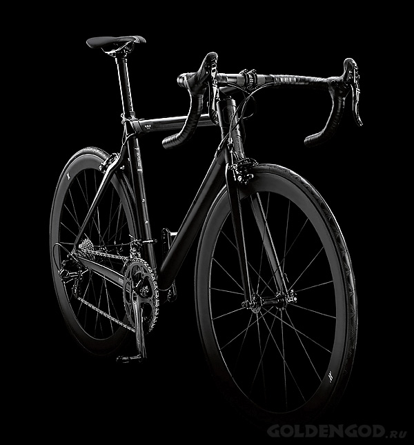 Эксклюзивный велосипед - Hublot All Black Bike