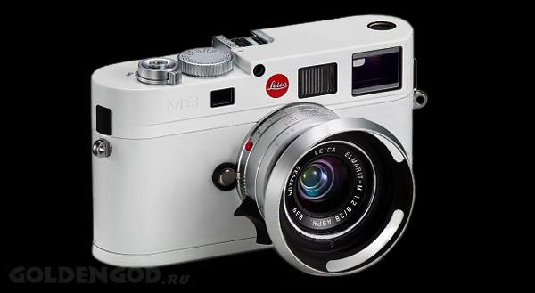 Дорогой фотоаппарат Leica M8 White Edition