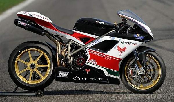 Самый дорогой супербайк - Ducati 1198 RF