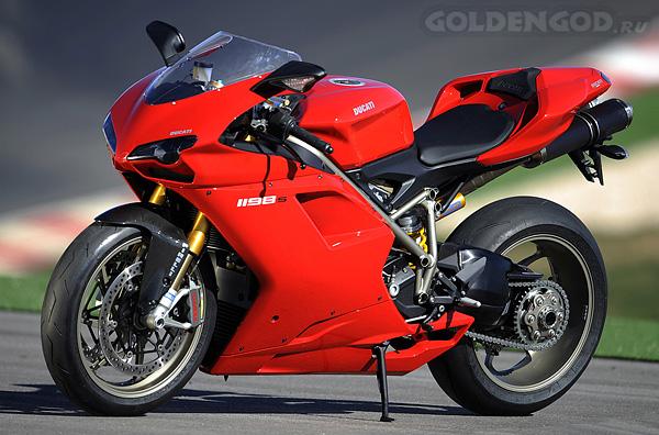 супербайк - Ducati 1198 S