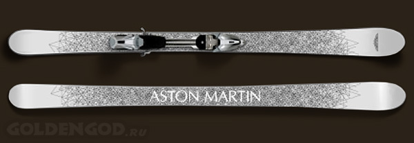 Дорогие горные лыжи от Aston Martin