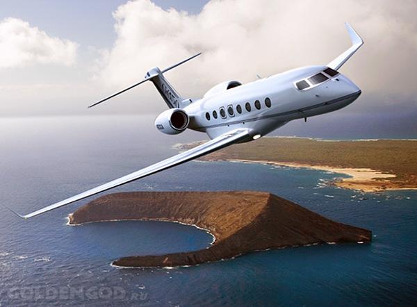 Самый быстрый частный реактивный самолет Gulfstream G650
