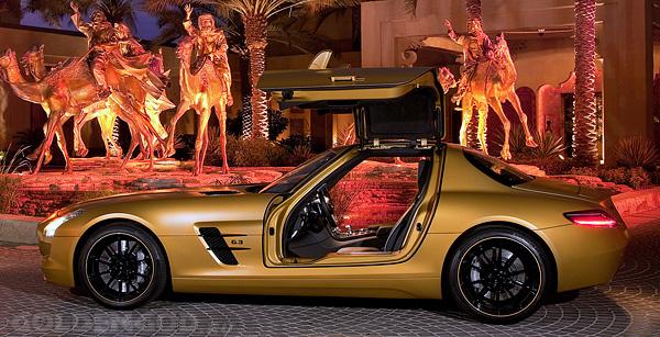 дорогой Мерседес - Mercedes-Benz SLS AMG Gold Edition