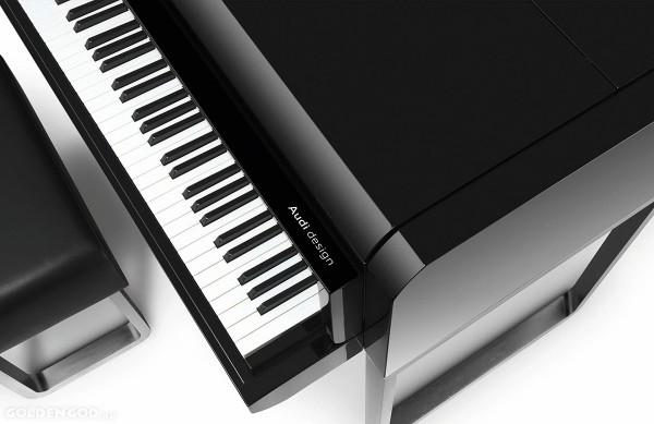 Дорогой рояль от AUDI Design