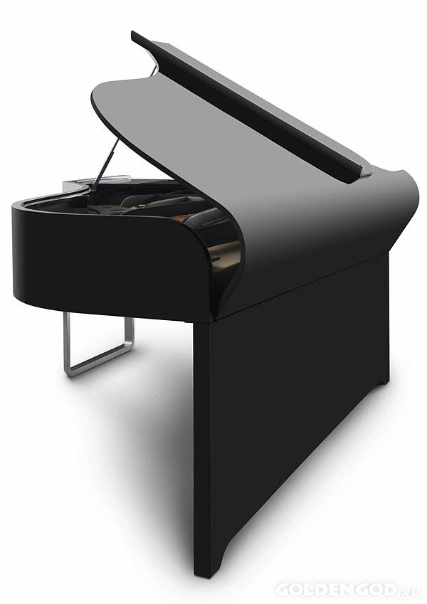 Дорогой дизайнерский рояль от AUDI Design