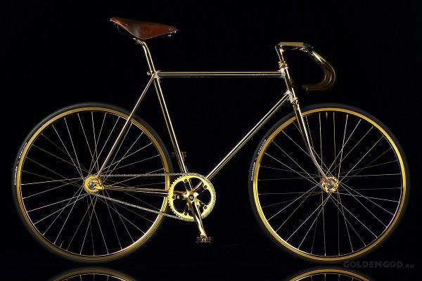 Самый дорогой велосипед из золота, Aurumania