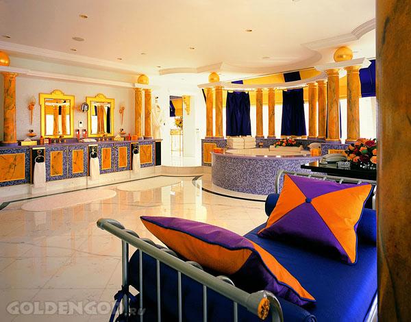 Самые дорогие отели мира Бурдж Аль Араб Goldengod
