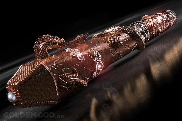 Montegrappa Ultimate Centennial Dragon — дорогая авторучка