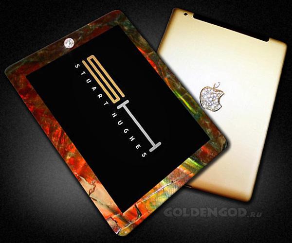 Самые дорогие планшеты в мире: iPad 2 Gold History Edition