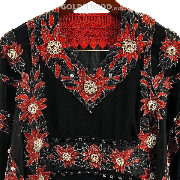 Самое дорогое платье в мире — Red Diamond Abaya